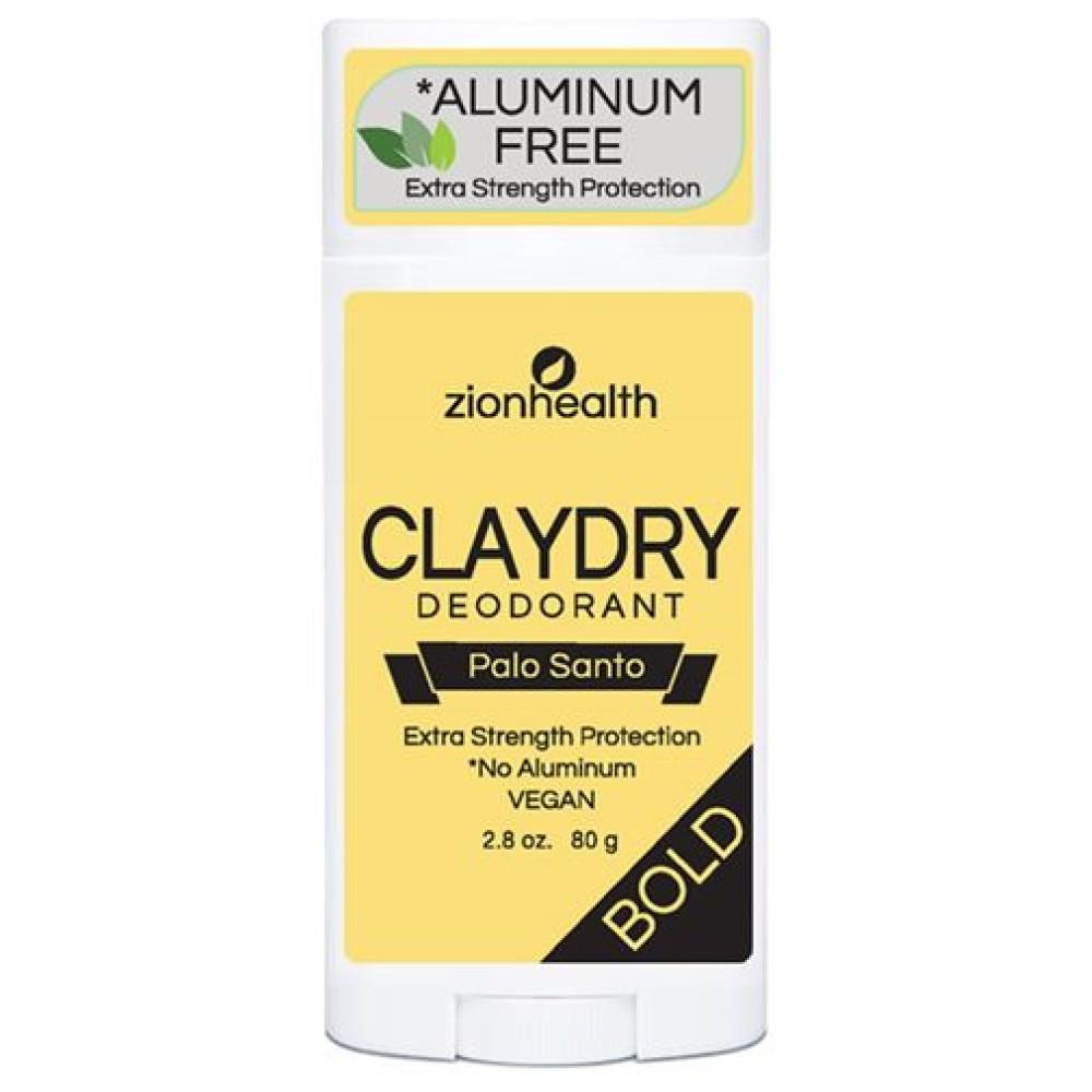 Clay Dry Bold – Palo Santo Scent Vegan Deodorant – 2.8 oz.