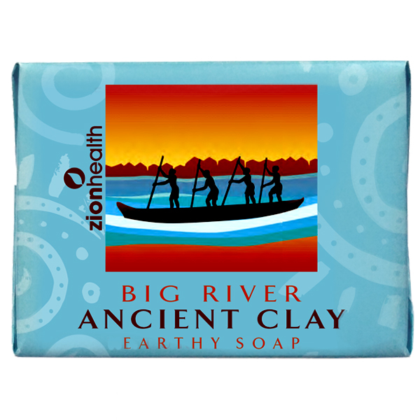 Ancient Clay Soap  -  Big River 10.5 oz