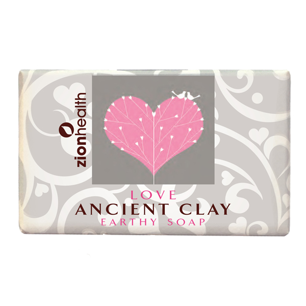 Ancient Clay Vegan Soap -  Love 6oz