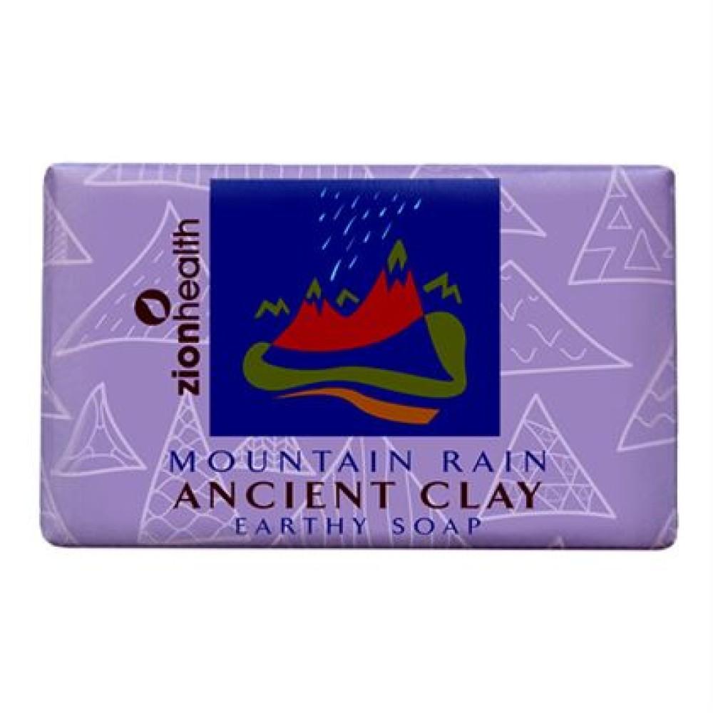 Ancient Clay Soap  -  Mountain Rain  6 oz