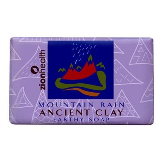 Ancient Clay Soap - Mountain Rain 6 oz image
