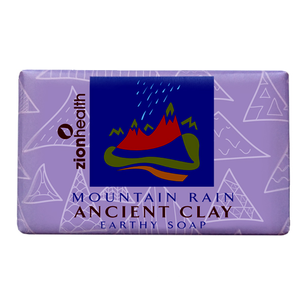 Ancient Clay Soap  -  Mountain Rain  6 oz