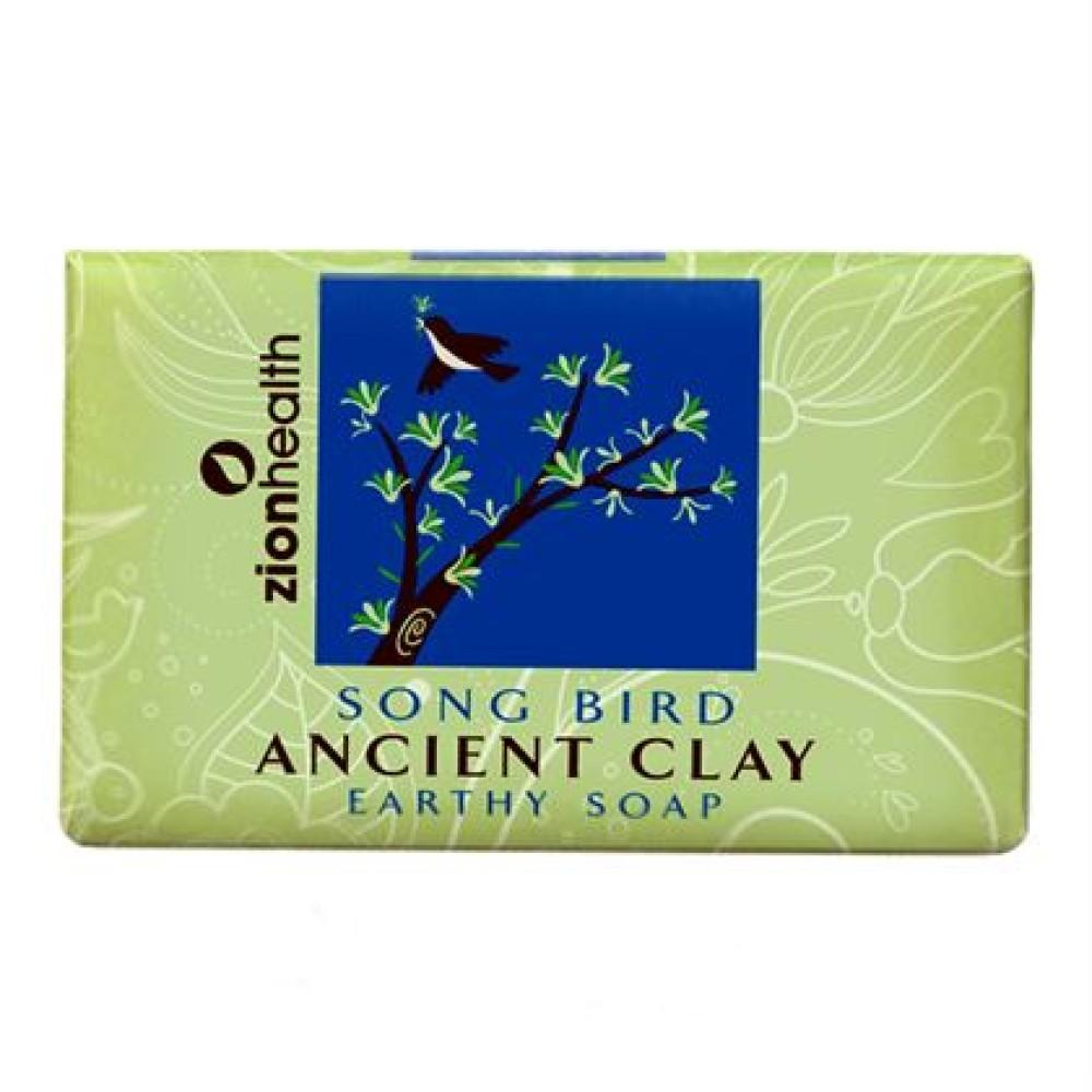 Ancient Clay Vegan Soap  -  Song Bird 6 oz