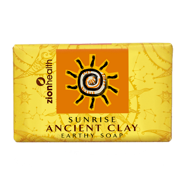 Ancient Clay Vegan Soap  -  Sunrise 6oz