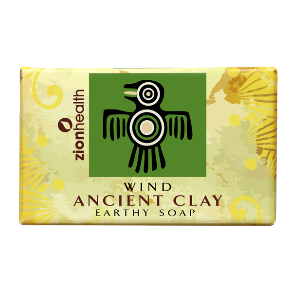 Ancient Clay Soap  -  Wind 6 oz