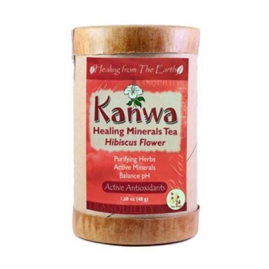 Kanwa Minerals Hibiscus Flower Tea - 24 bags image