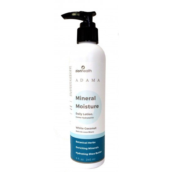 Adama Mineral Moisture Intense Daily Lotion - White Coconut 8 oz. image