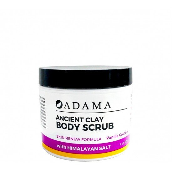 Adama Body Scrub - Vanilla Coconut - 4oz image