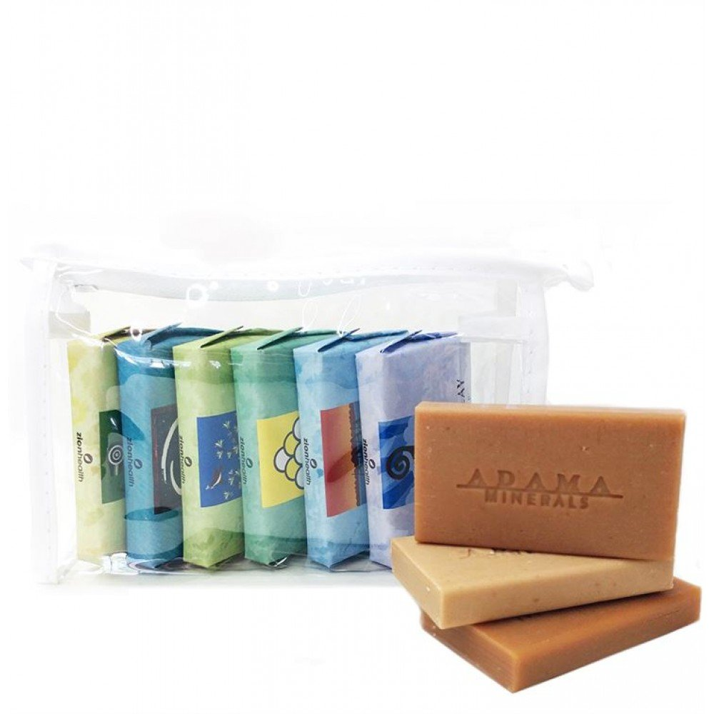 Ancient Clay Soap Gift Bundle #1 - 6 Pack 1 oz - Clay Soaps