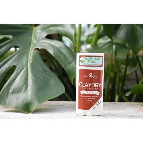 Clay Dry Bold - Original Vegan Deodorant 2.8oz. image