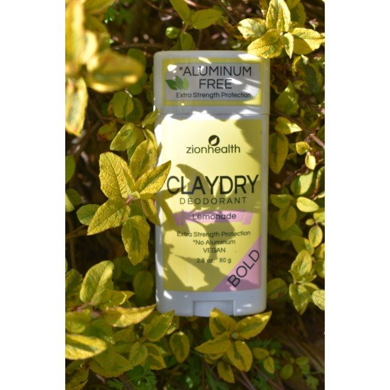 Clay Dry Bold – Lemonade Vegan Deodorant – 2.8 oz. image