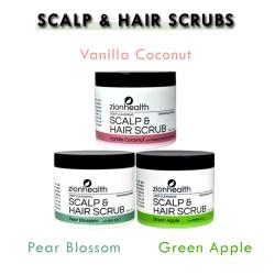 Deep Cleansing Scalp & Hair Scrub Trio