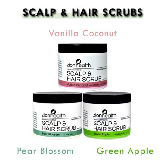 Deep Cleansing Scalp & Hair Scrub Trio image