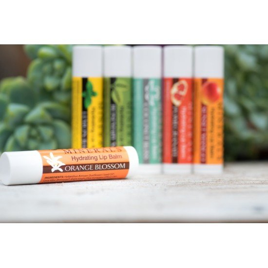 Adama Minerals Hydrating Lip Balm - Orange Blossom image