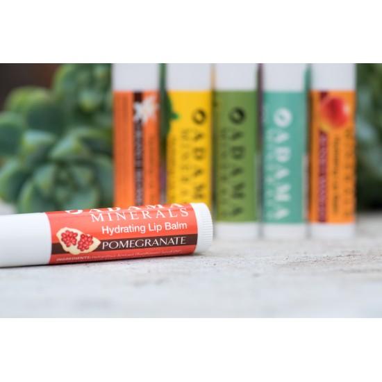 Adama Minerals Hydrating Lip Balm - Pomegranate image