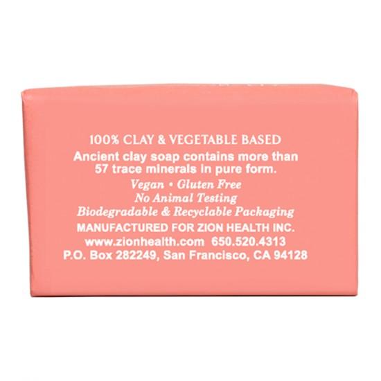 Ancient Clay Vegan Soap - Bergamot Rose 6oz image