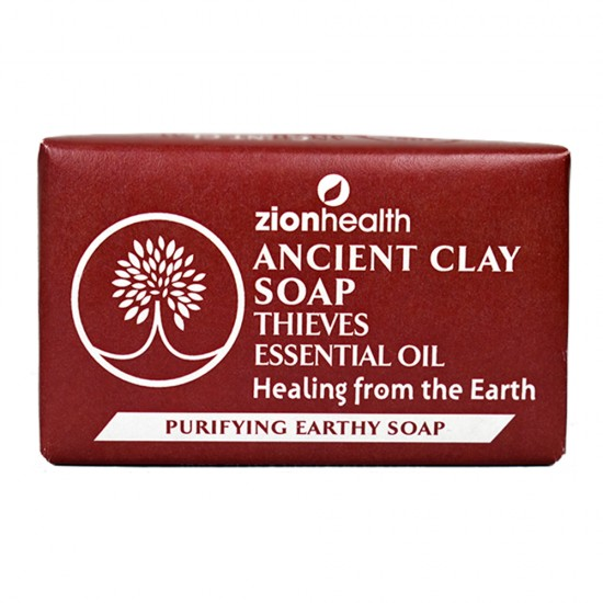 Ancient Clay Natural Soap Thieves Essential Oil 6oz