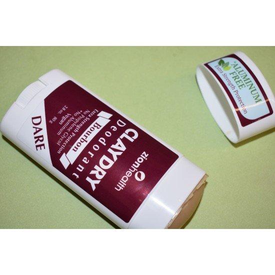 Clay Dry Dare - Bourbon Scent Vegan Deodorant image